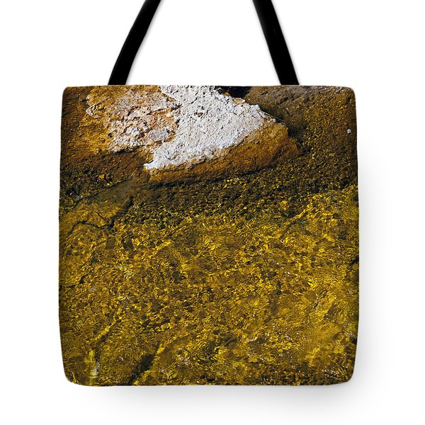 Tote Bag featuring the photograph Yellowstone Color by J L Woody Wooden