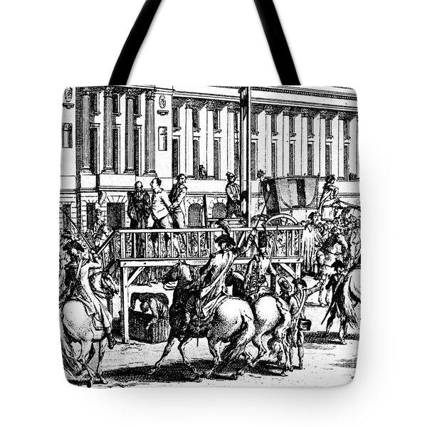 Louis Xvi (1754-1793) Tote Bag by Granger
