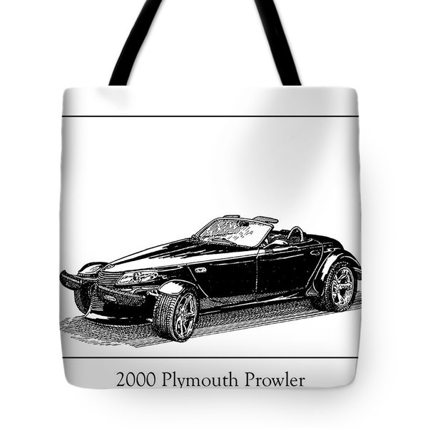2000 Plymouth Prowler Tote Bag by Jack Pumphrey