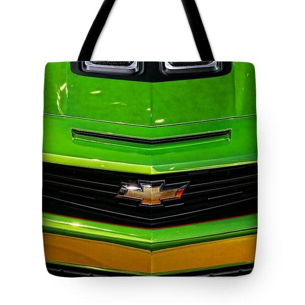 2012 Chevy Camaro Hot Wheels Concept Tote Bag by Gordon Dean II