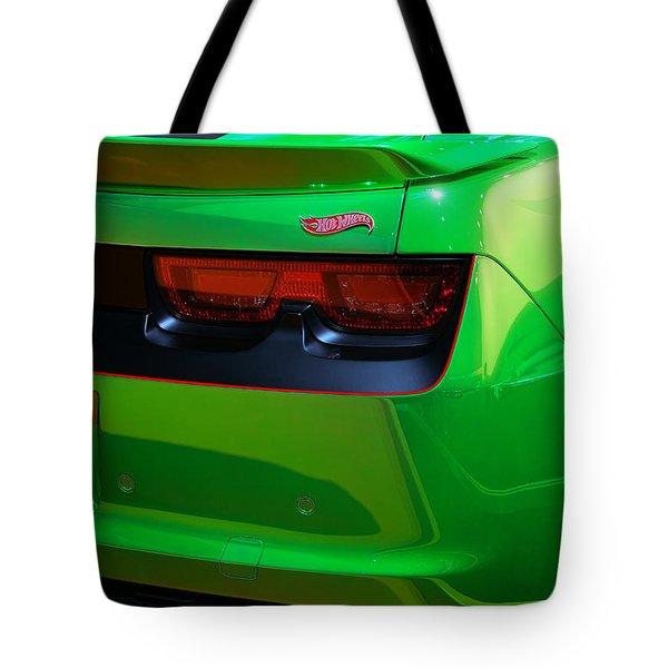 2012 Hot Wheels Chevrolet Camaro Concept Tote Bag by Gordon Dean II