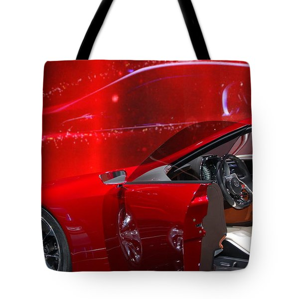 2013 Lexus L F - L C Tote Bag by Randy J Heath