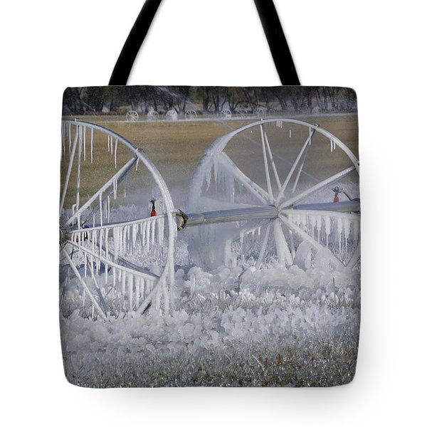 23 Degrees Tote Bag by Fran Riley
