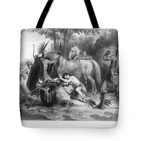 Pocahontas (1595?-1617) Tote Bag by Granger