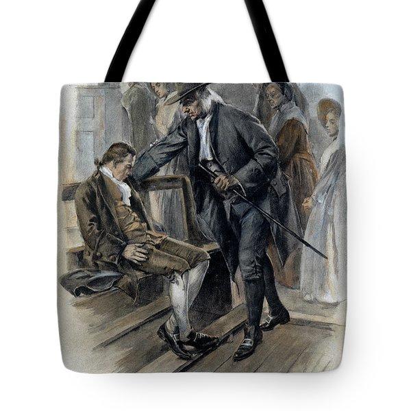 Benjamin Franklin (1706-1790) Tote Bag by Granger