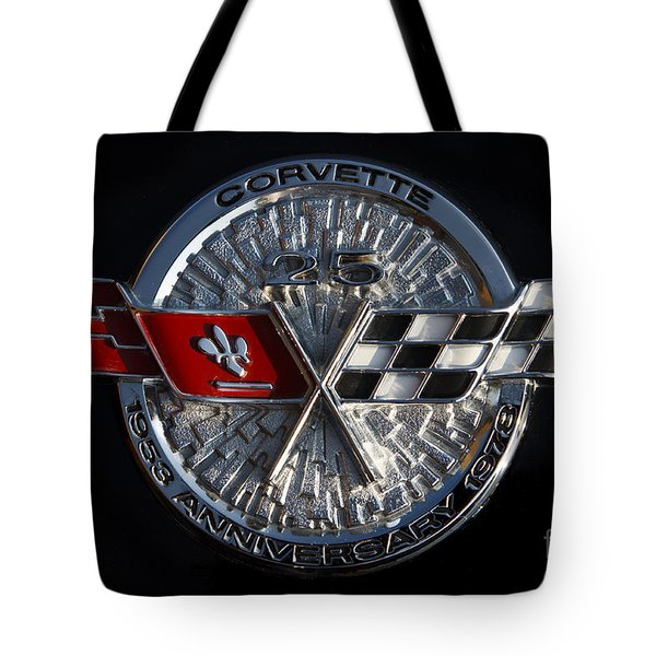 25th Anniversary Tote Bag by Dennis Hedberg