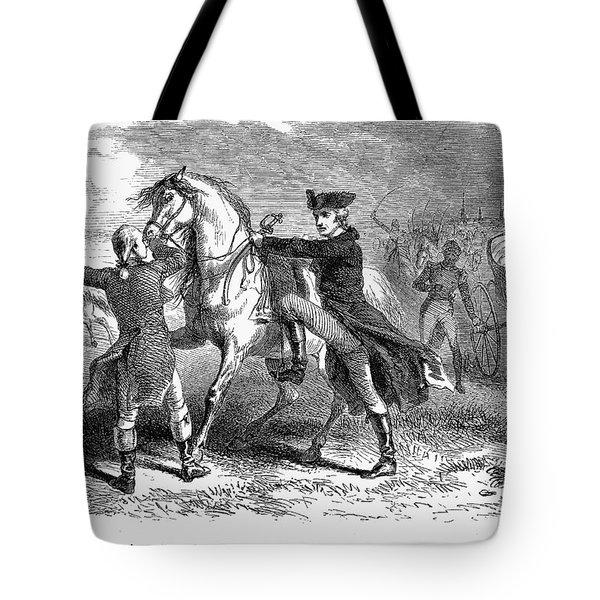Marquis De Lafayette Tote Bag by Granger