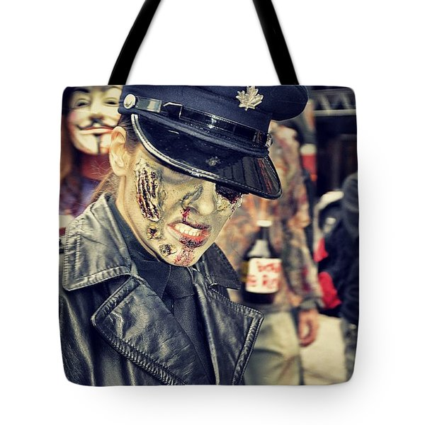 10th Annual Toronto Zombie Walk Tote Bag