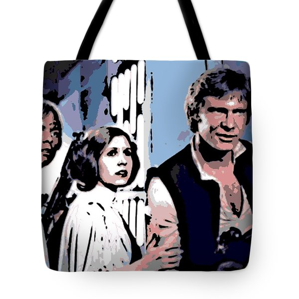 3 Aces Tote Bag by George Pedro