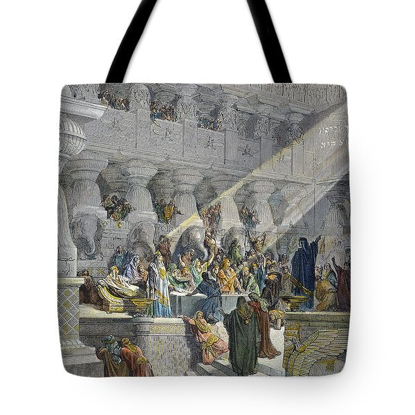Belshazzars Feast Tote Bag by Granger