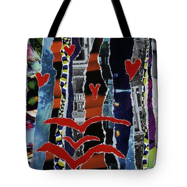 3 Birds And Prey Tote Bag