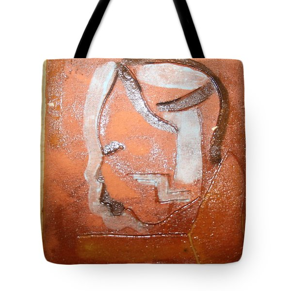 Bless - Tile Tote Bag by Gloria Ssali