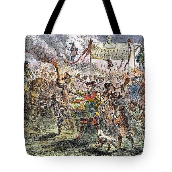 Boston: Stamp Act Riot, 1765 Tote Bag by Granger