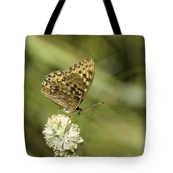 Tote Bag featuring the photograph Butterfly by Betty Depee