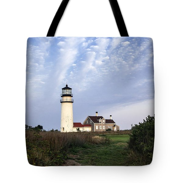 Cape Cod Light Tote Bag by John Greim