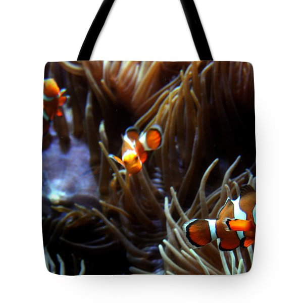 3 Clowns Tote Bag
