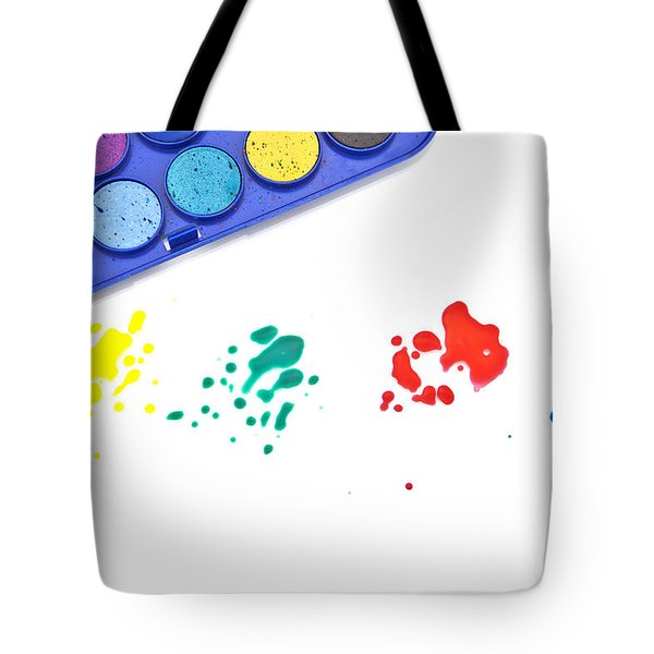 Color Splash Tote Bag by Joana Kruse