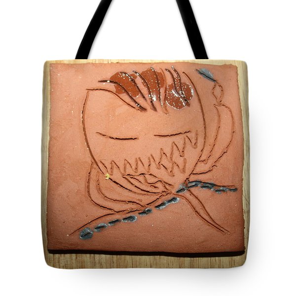 Crazy Pineapple Tote Bag by Gloria Ssali