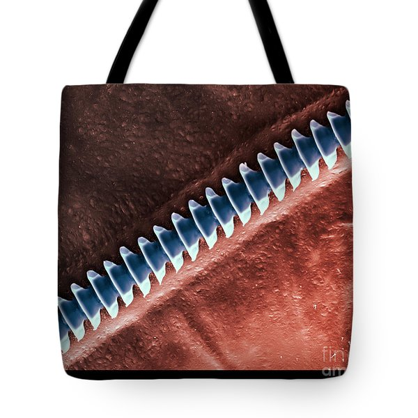 Cricket Sound Comb, Sem Tote Bag by Ted Kinsman