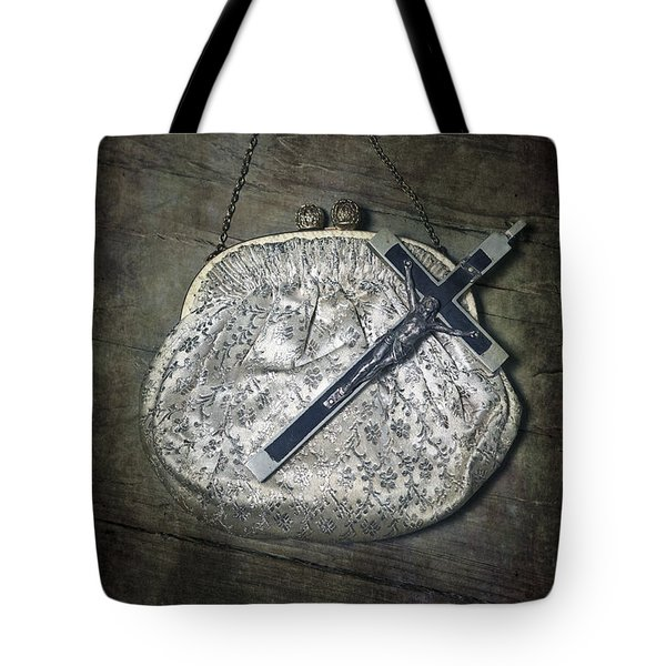 Crucifix Tote Bag by Joana Kruse