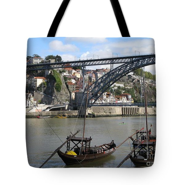Tote Bag featuring the photograph Douro River by Arlene Carmel