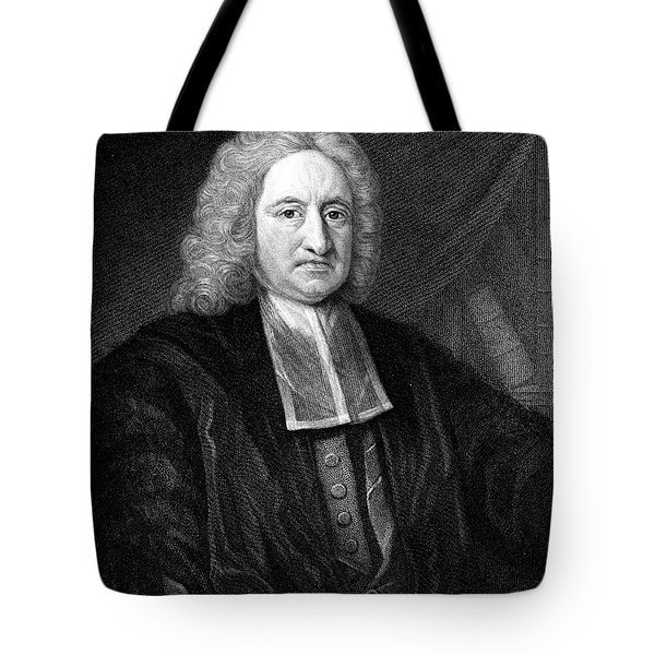 Edmond Halley, English Polymath Tote Bag by Science Source