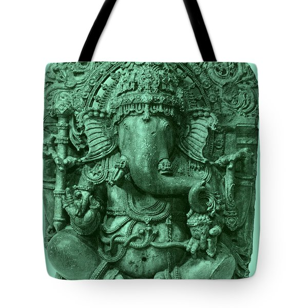Ganesha, Hindu God Tote Bag by Photo Researchers