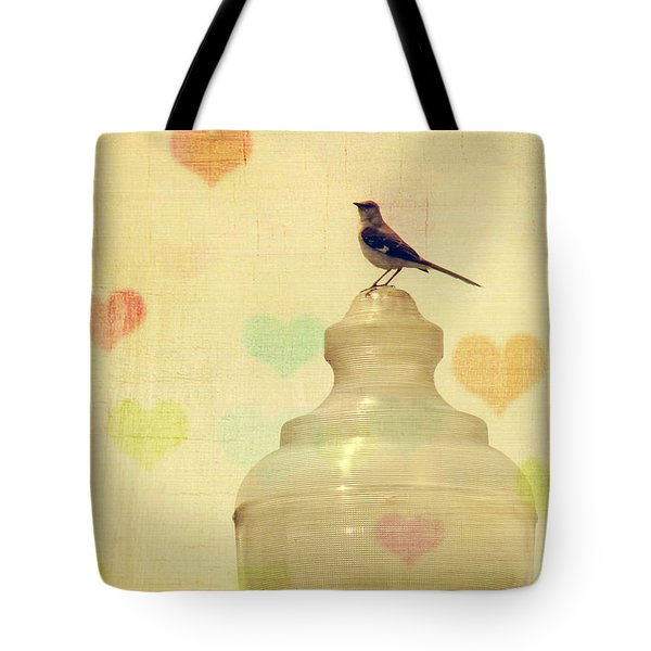 Heartsong Tote Bag by Amy Tyler