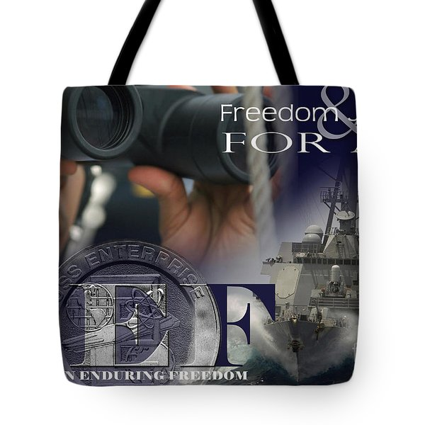 Illustration Of Crew Members Involved Tote Bag by Stocktrek Images