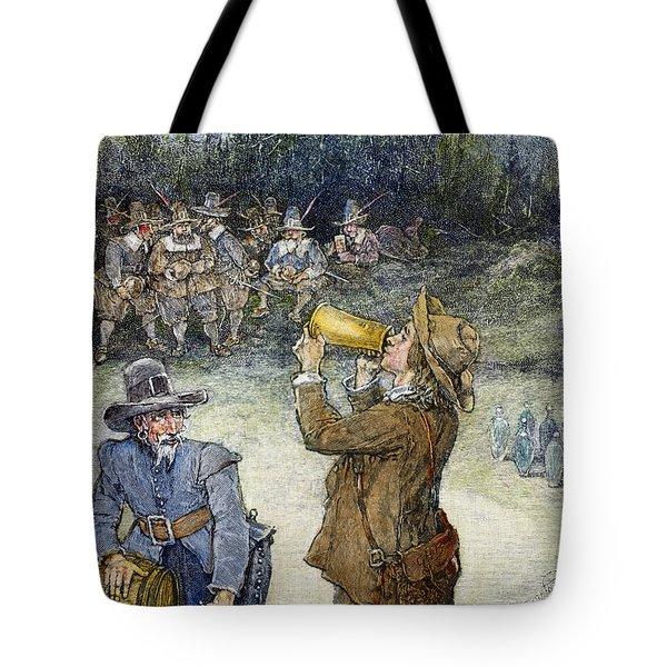 Irving: Rip Van Winkle Tote Bag by Granger