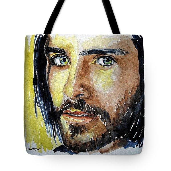 Jared Leto Tote Bag by Francoise Dugourd-Caput