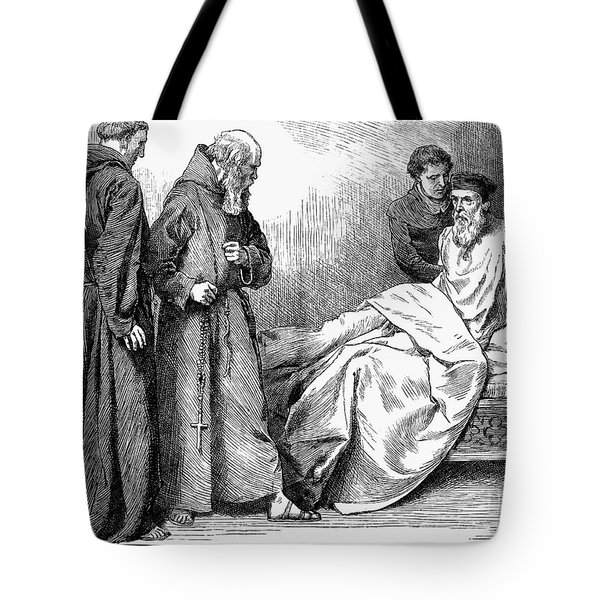 John Wycliffe (1320?-1384) Tote Bag by Granger