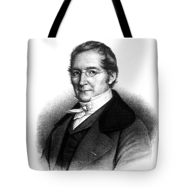 Joseph Gay-lussac, French Chemist Tote Bag by Science Source