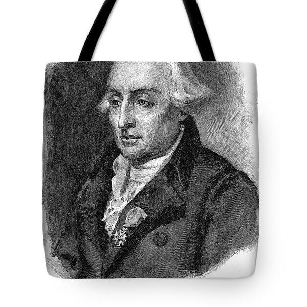 Joseph Louis Lagrange Tote Bag by Granger