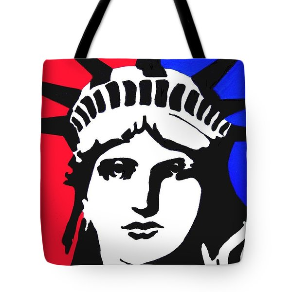 Lady Liberty Tote Bag by Vickie G Buccini