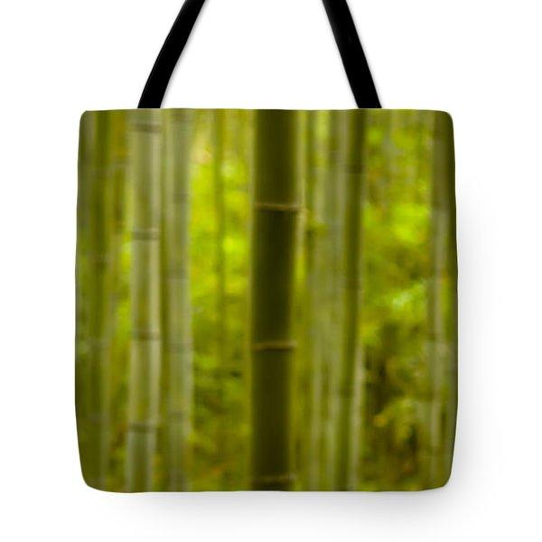 Mystical Bamboo Tote Bag by Sebastian Musial