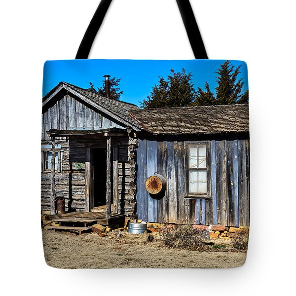 Old Cabin Tote Bag by Doug Long