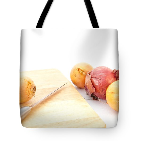 Onions Tote Bag by Tom Gowanlock