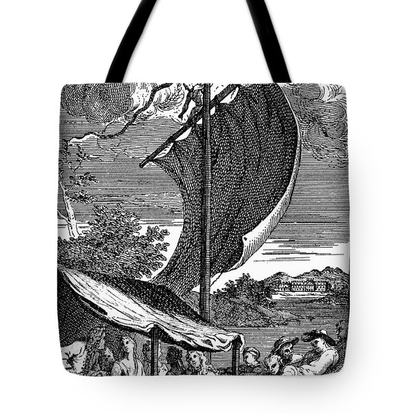 Pope: Rape Of The Lock Tote Bag by Granger