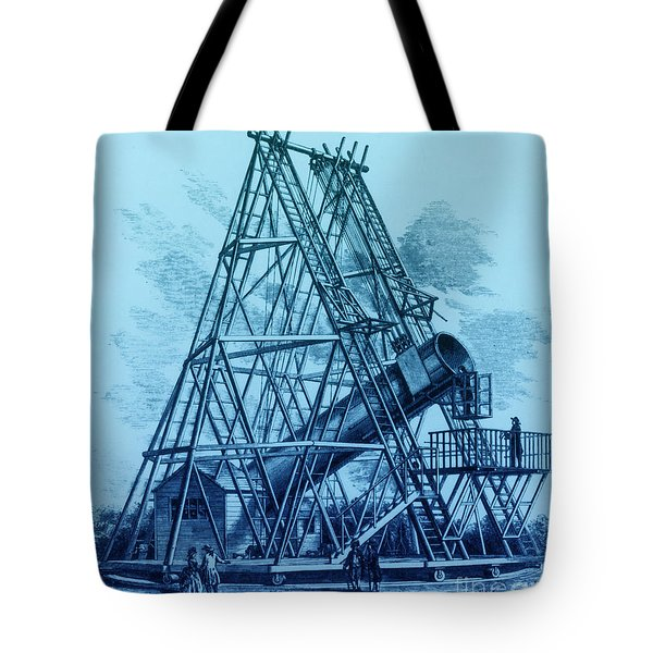 Reflecting Telescope, 1789 Tote Bag by Science Source