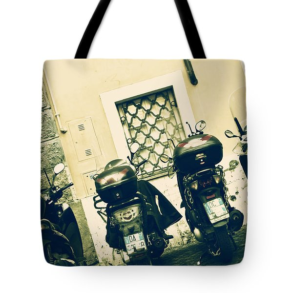 Scooter Tote Bag by Joana Kruse