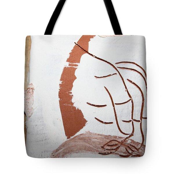 Senses - Tile Tote Bag by Gloria Ssali