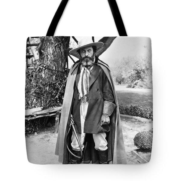 Silent Film Still: Beards Tote Bag by Granger