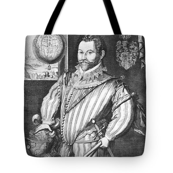 Sir Francis Drake (1540-1596) Tote Bag by Granger