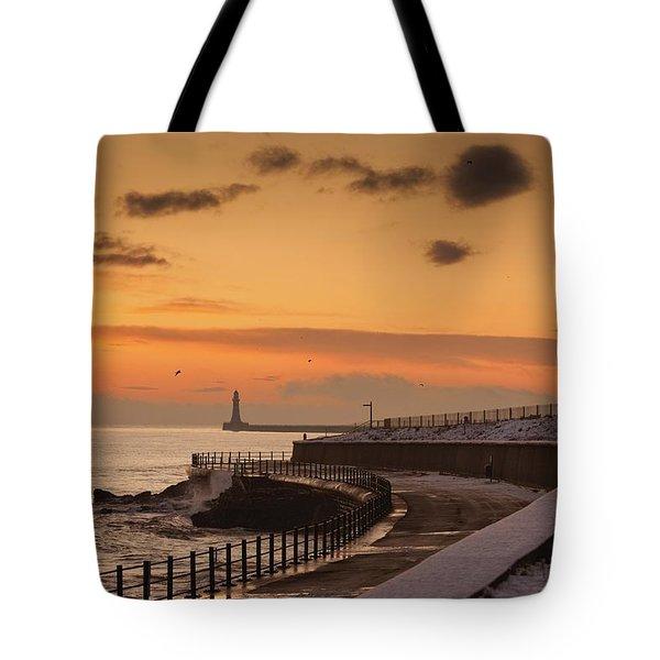 Sunderland, Tyne And Wear, England A Tote Bag by John Short