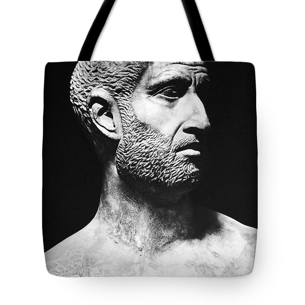 Terence (186?-159 B.c.) Tote Bag by Granger