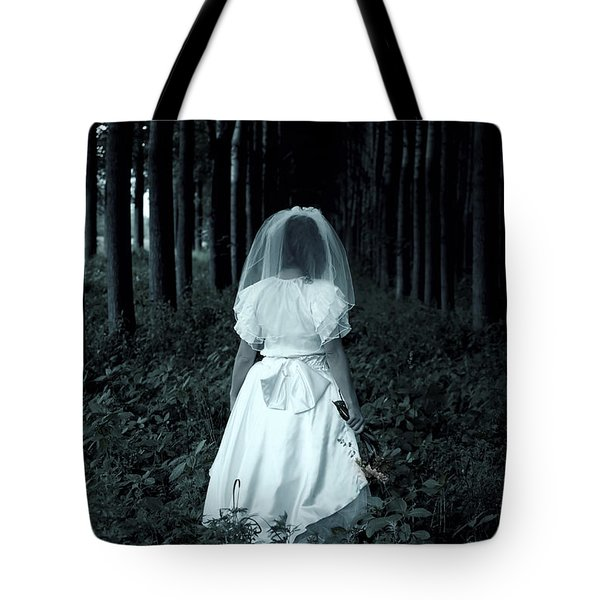The Bride Tote Bag by Joana Kruse