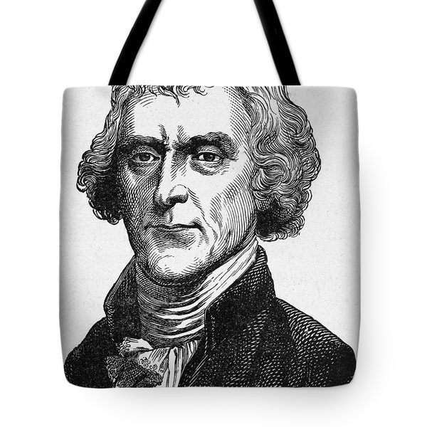 Thomas Jefferson Tote Bag by Granger