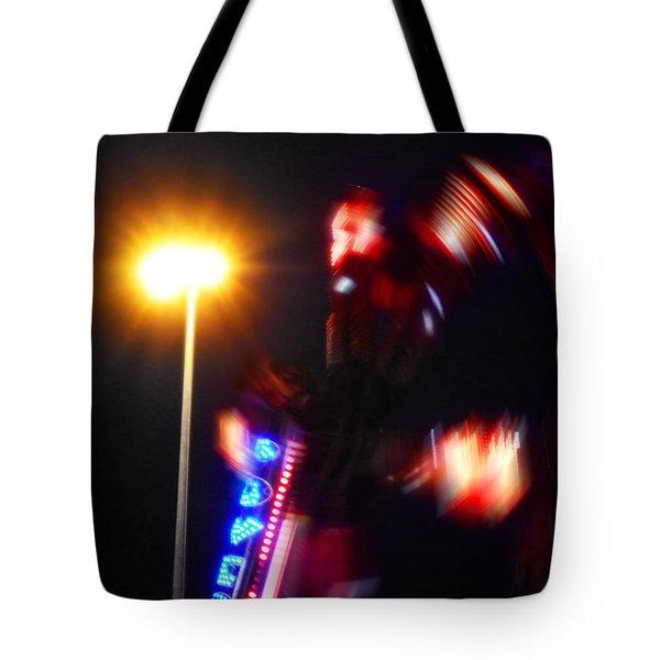 Thriller Tote Bag by Charles Stuart