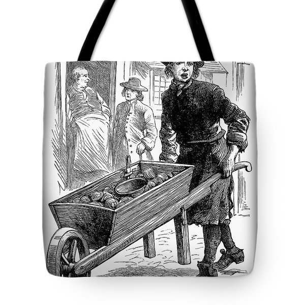 Town Crier, 18th Century Tote Bag by Granger